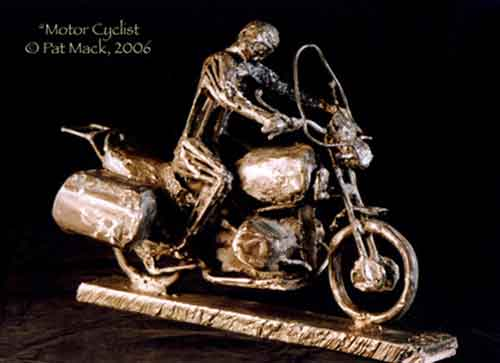 Motorcyclist steel