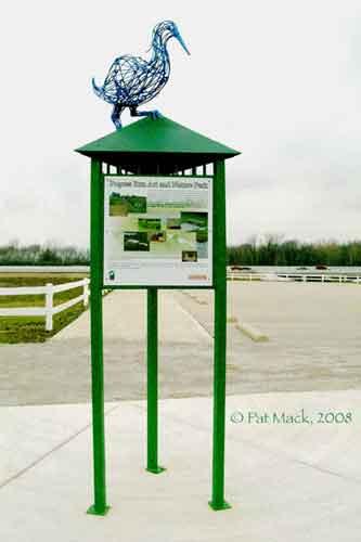 Kiosk Bird steel