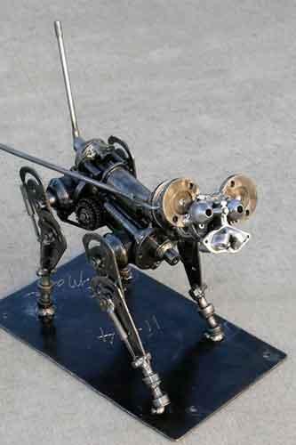 Robot Dog steel