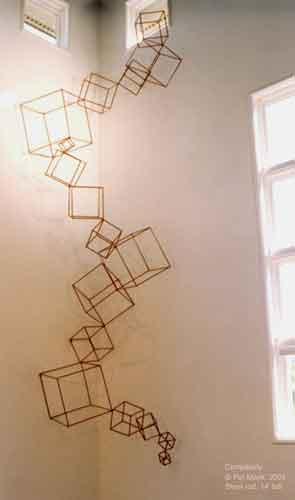 Wall Cubes steel