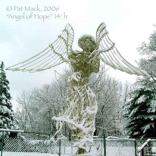 Winter Angel of Hope steel