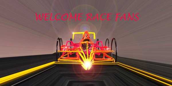 Open Wheel Race Car Poster Design #2 post image